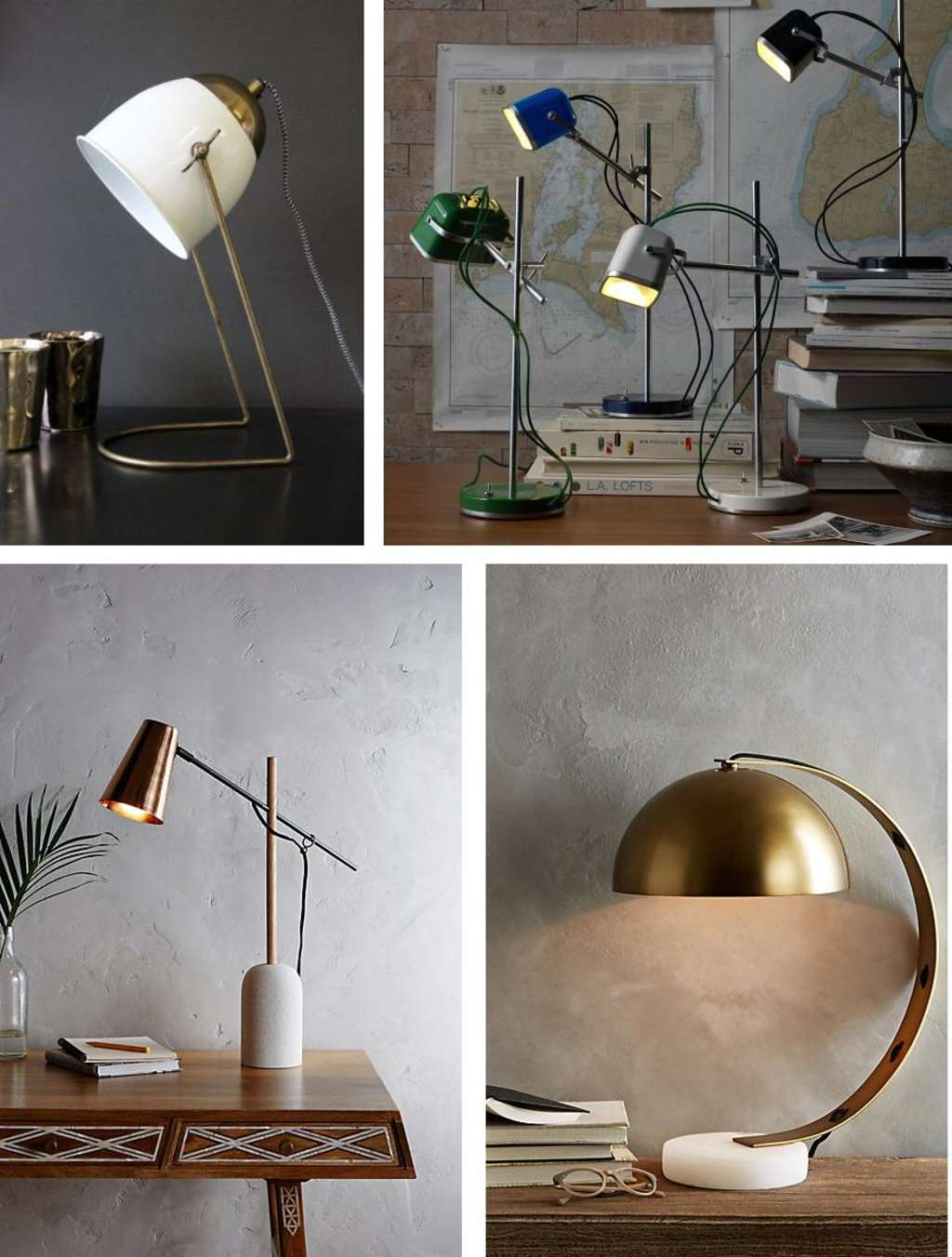 Best Stylish Task & Desk Lamps - High to Low