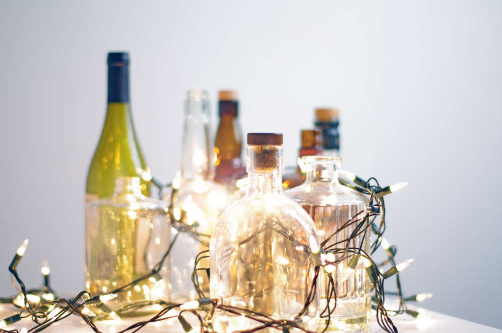 Stop Recycling Your Empty Glass Liquor and Wine Bottles