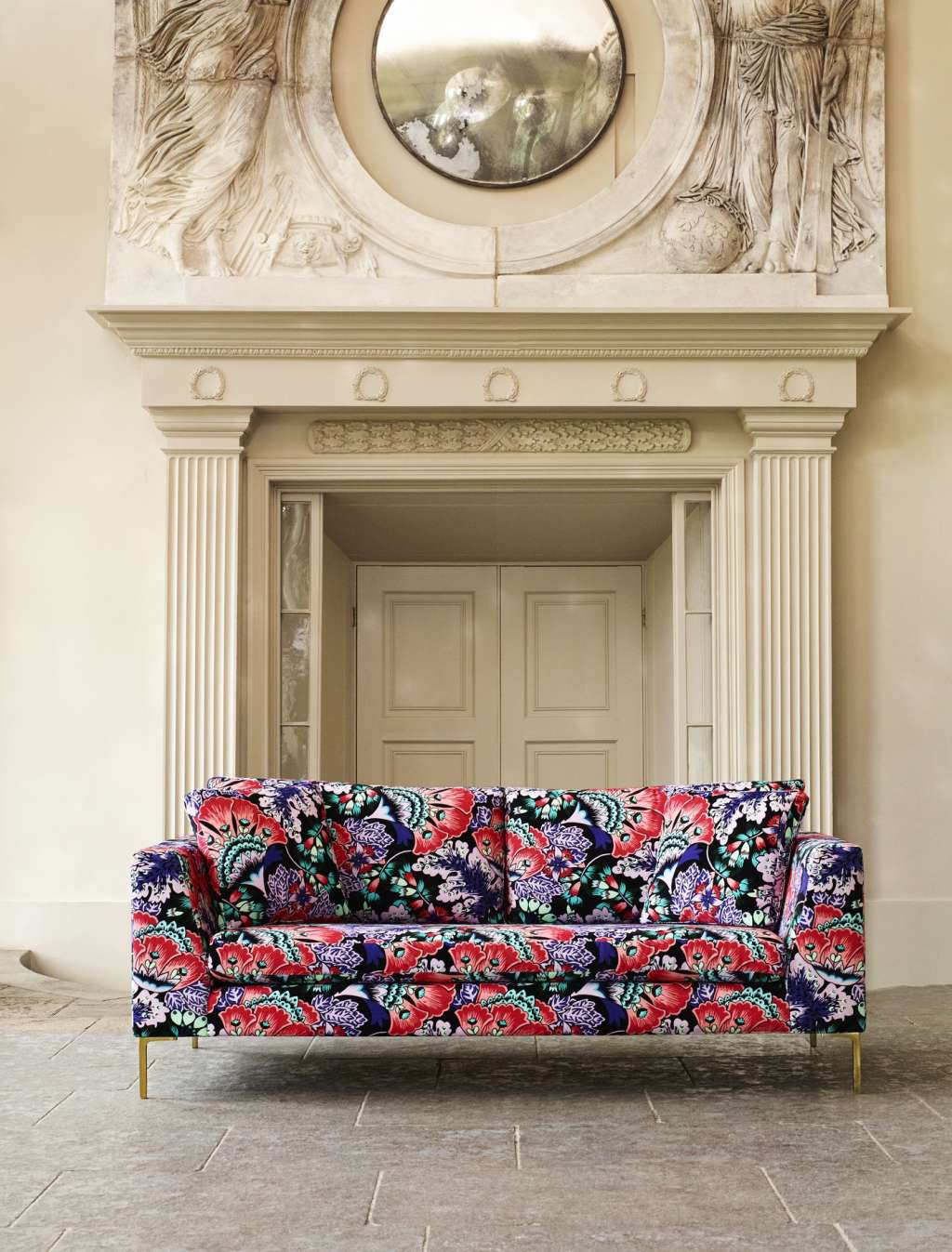 Anthropologies latest furniture collab with liberty of london is bold floral perfection 0a14b8de7ba631b963ff91804092c04eef4a504f