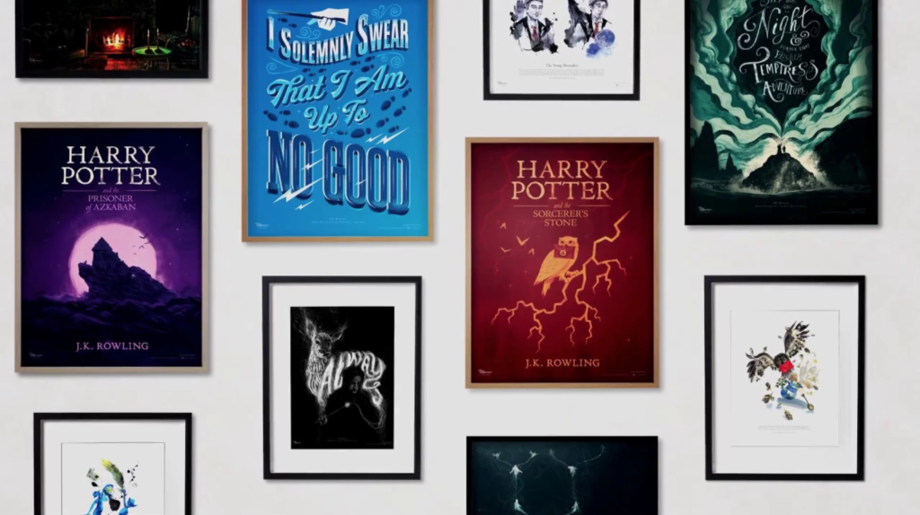 The Pottermore Art Collection Is Now Available in the US