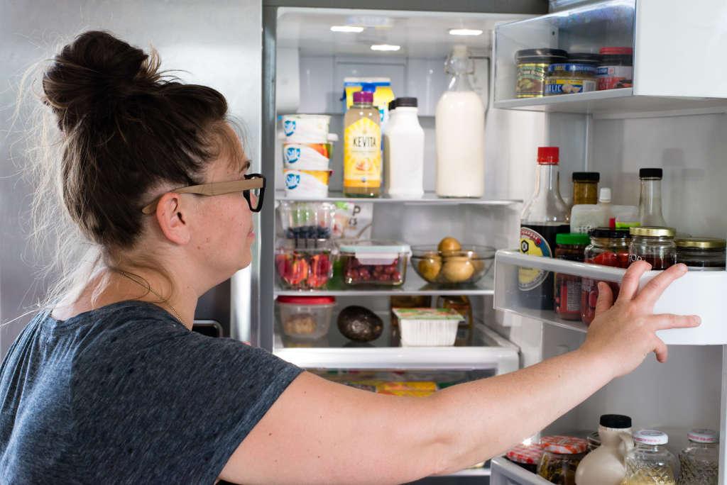 condiment fridge door organizing tips kitchn. Black Bedroom Furniture Sets. Home Design Ideas