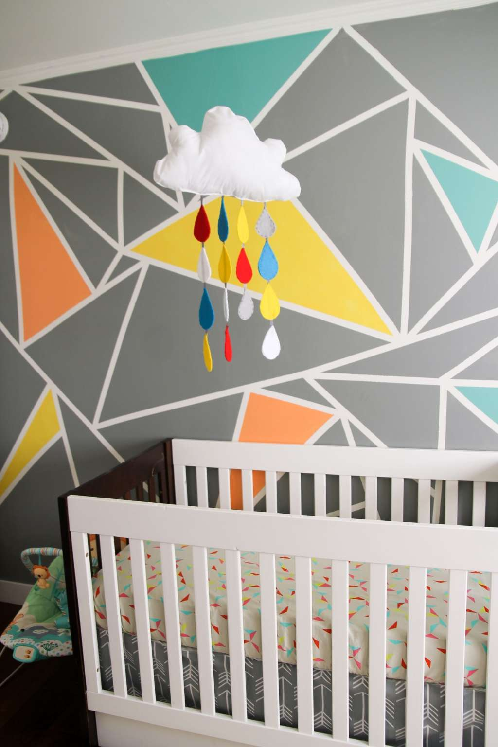 Archer's Colorful Nursery with Geometric Elements