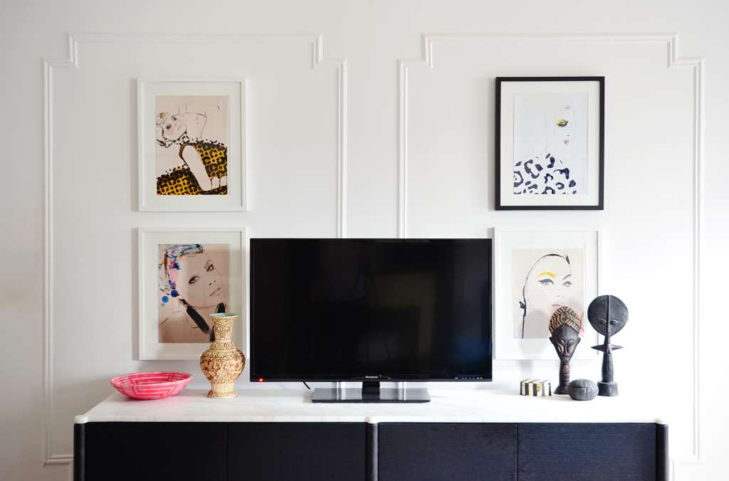 5 Ways to Decorate Around the TV from Real Homes