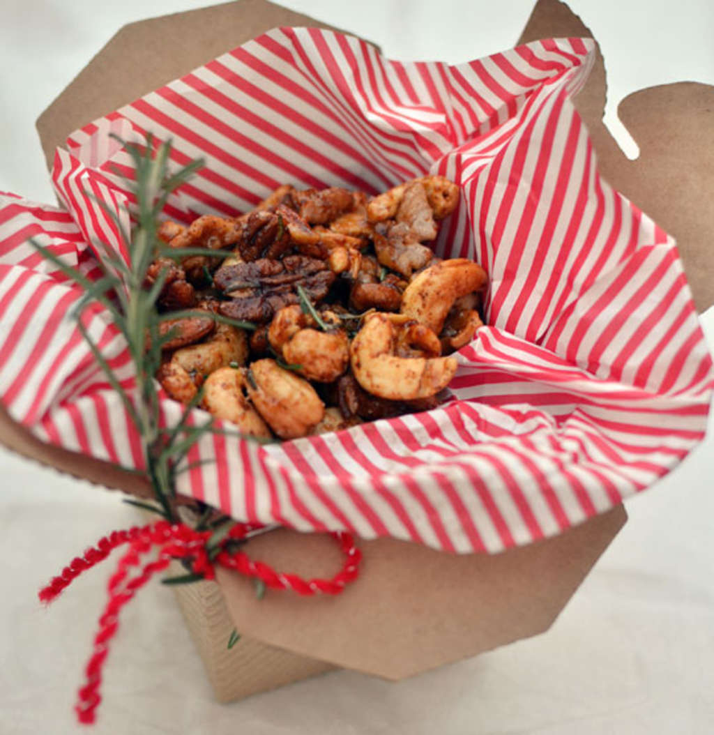 Ina Garten Shares Recipe For Perfect Homemade Croutons: Ina Garten's Chipotle & Rosemary Spiced Nuts