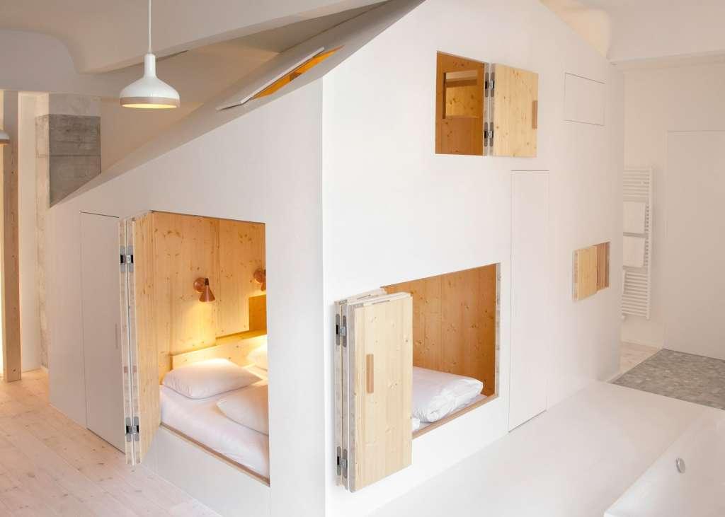 Berlin Hotel Room Has an Entire House Inside