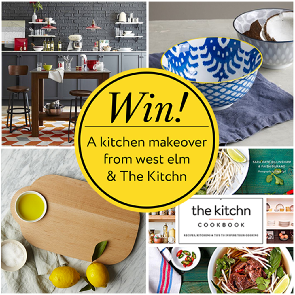 Kitchen Makeover Contest: Last Day To Enter! Win A $2000 Kitchen Makeover From West