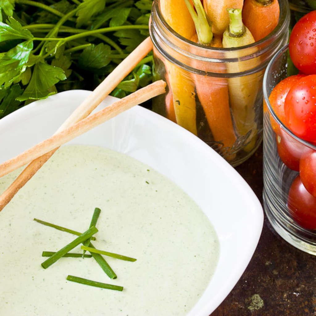 Classic Recipe: Green Goddess Dip