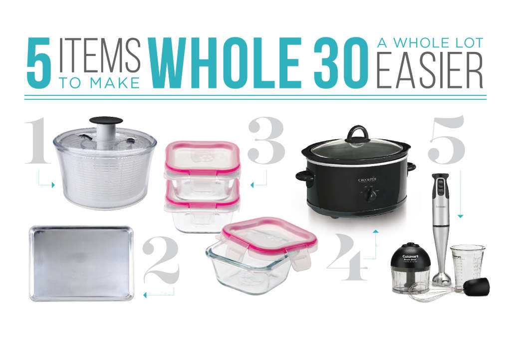 5 Kitchen Tools That Make Whole30 Easier