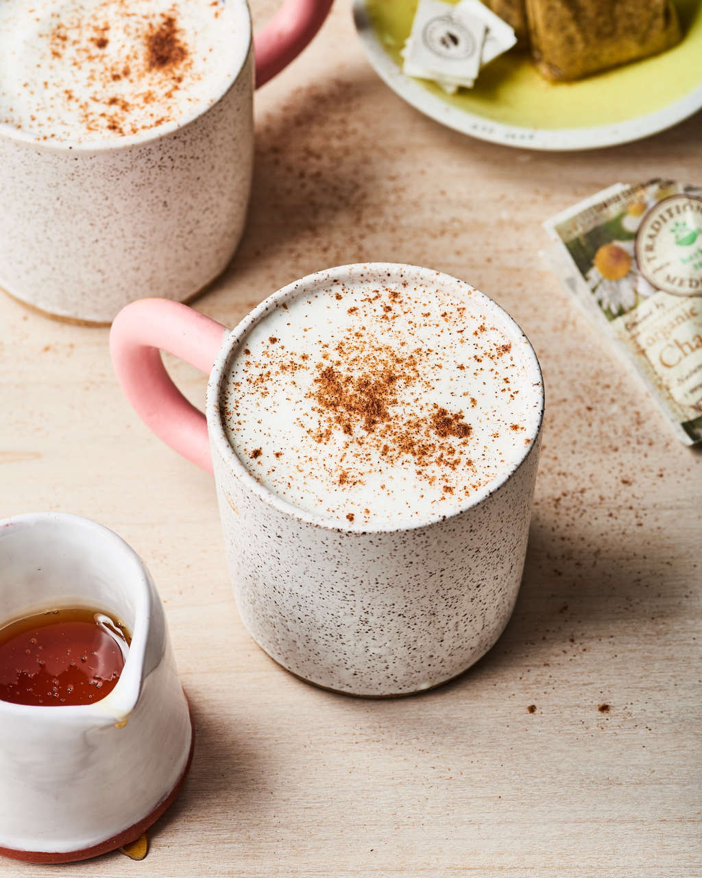 Staying in on New Year's Eve? Cozy Up with This Tea Latte.