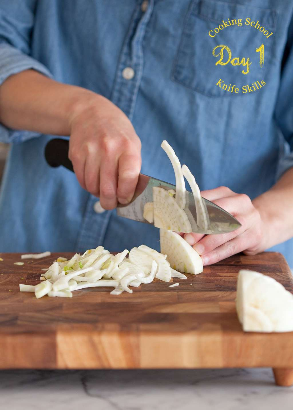Cooking School Day 1: Knife Skills   Kitchn