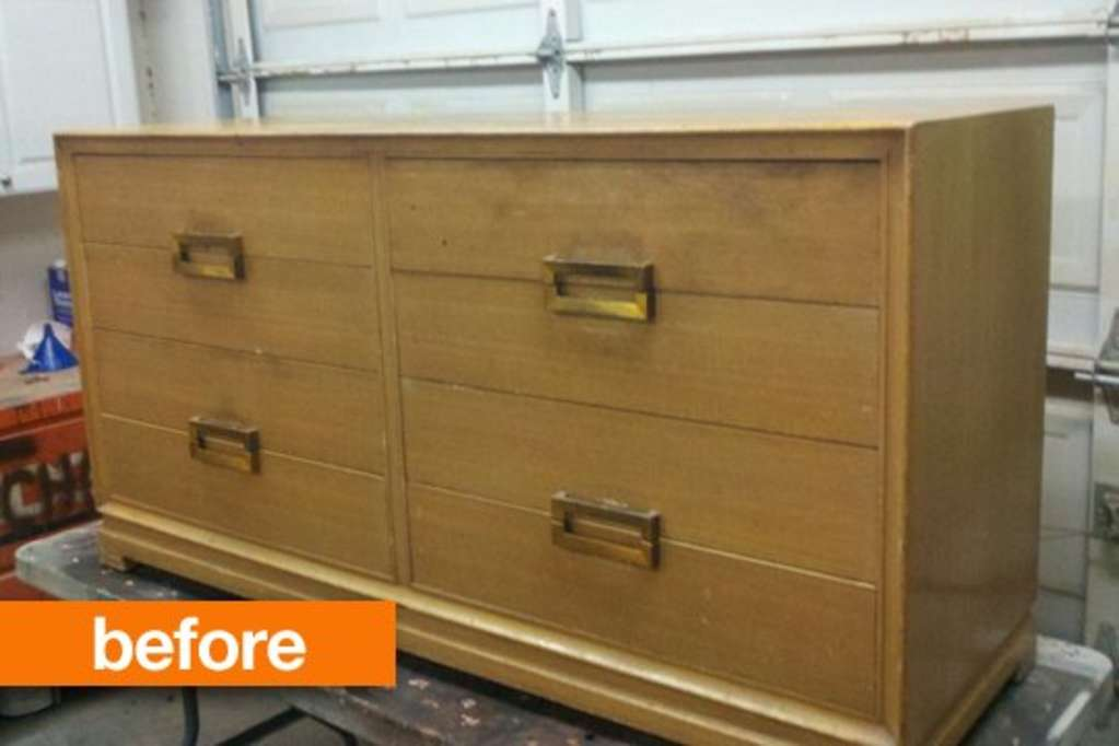 Before & After: Rebecca's Dresser Re-Do