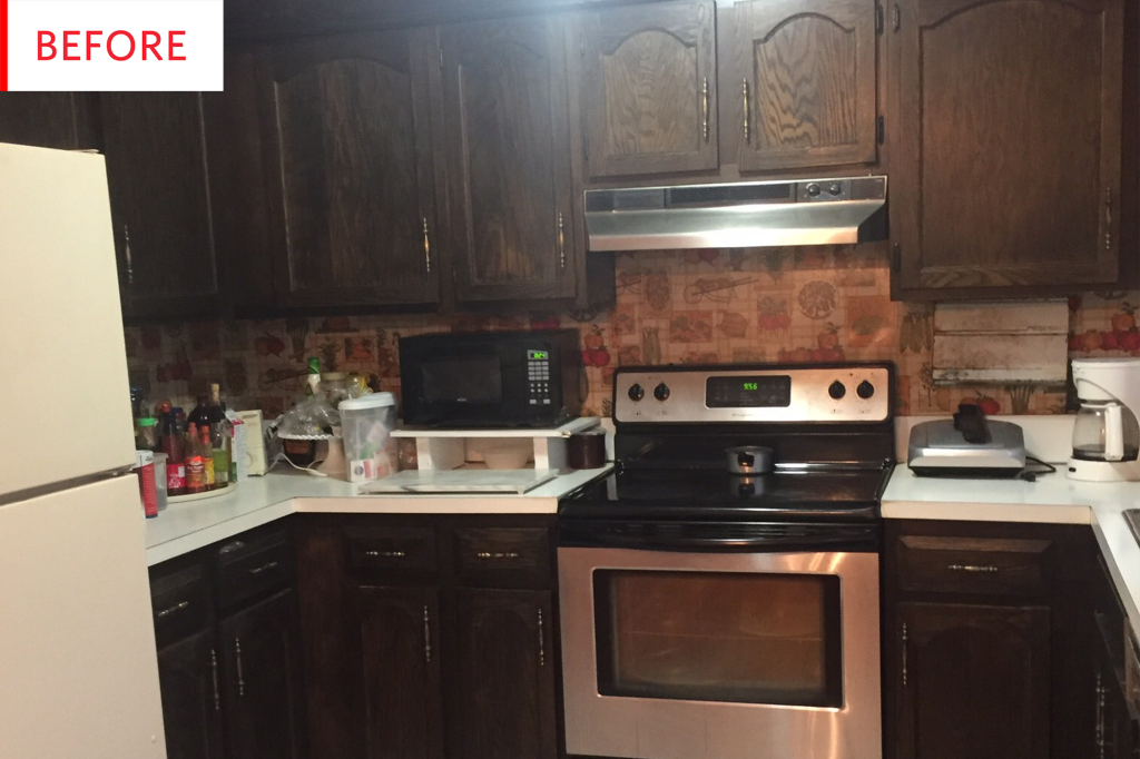 Before & After: A Remarkable $1,300 Kitchen Facelift