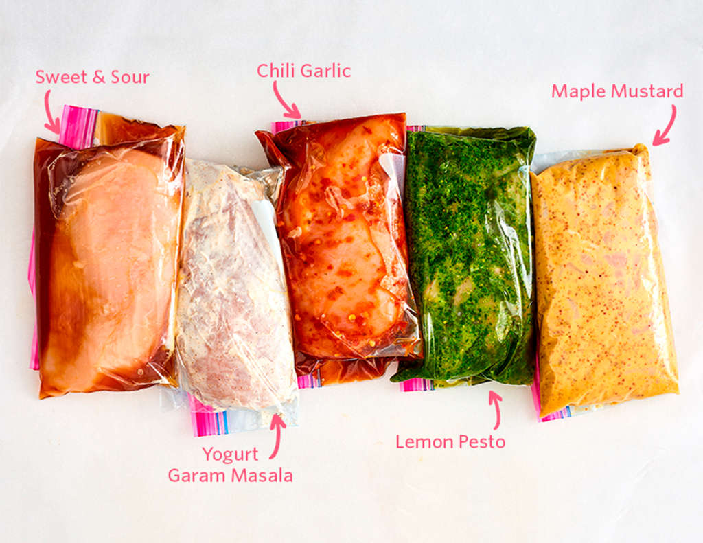 5 Easy Freezer Marinades Perfect for Chicken or Pork
