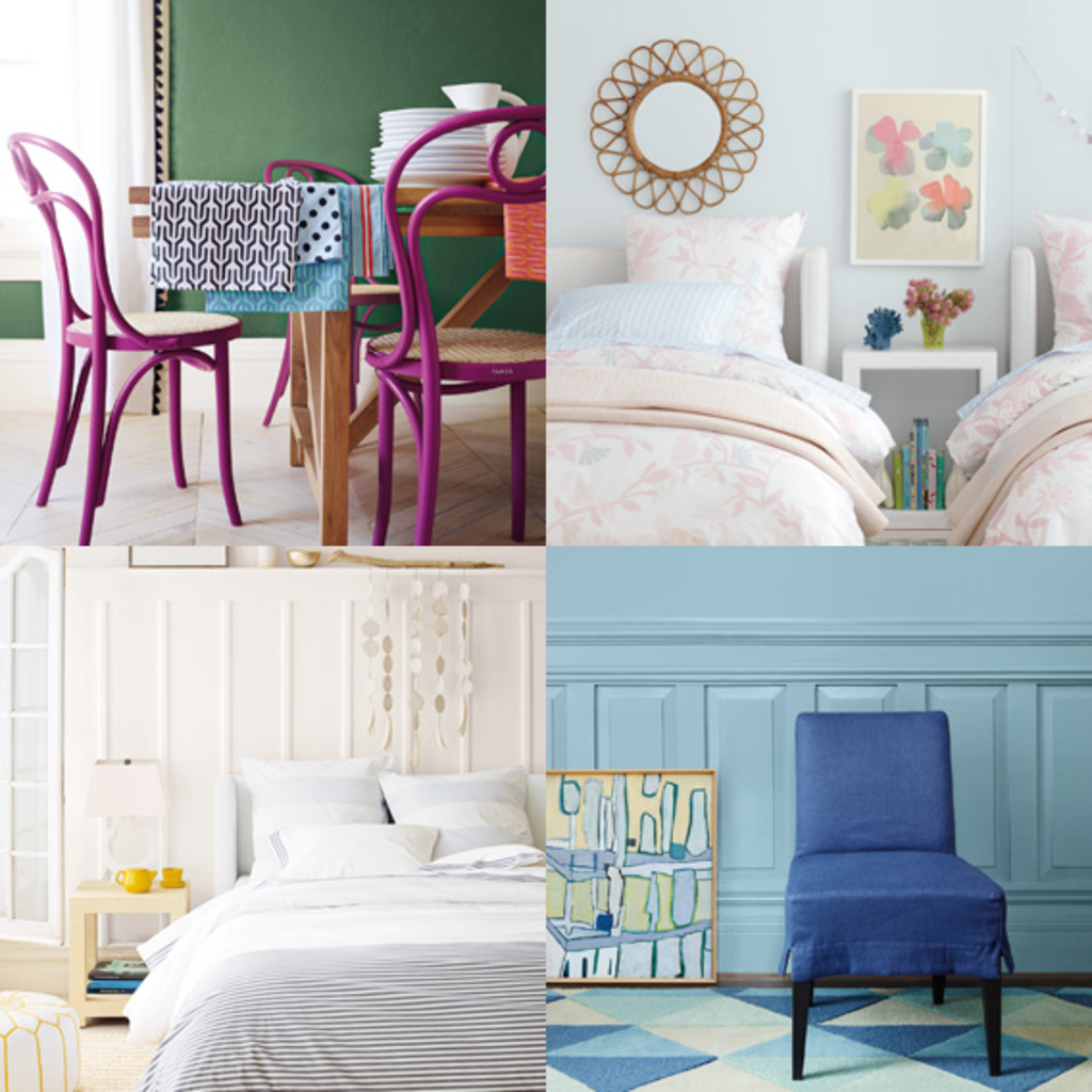 A Pretty Palette: New 108 Paint Color System from Serena & Lily and Colorhouse