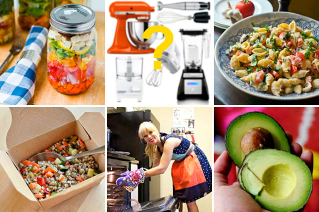 The #1 Multi-Tasking Gadget, Lunch Salads in Mason Jars & Zesty Tortellini Salad