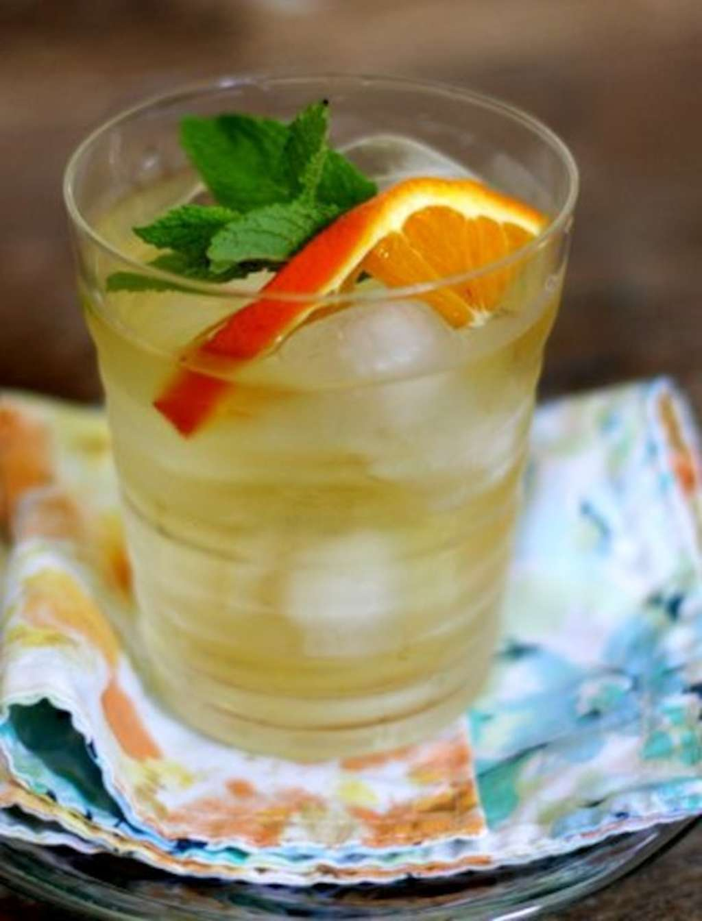 Springtime Refresher: Dr. Oz's Green Tea, Tangerine and Mint Tonic