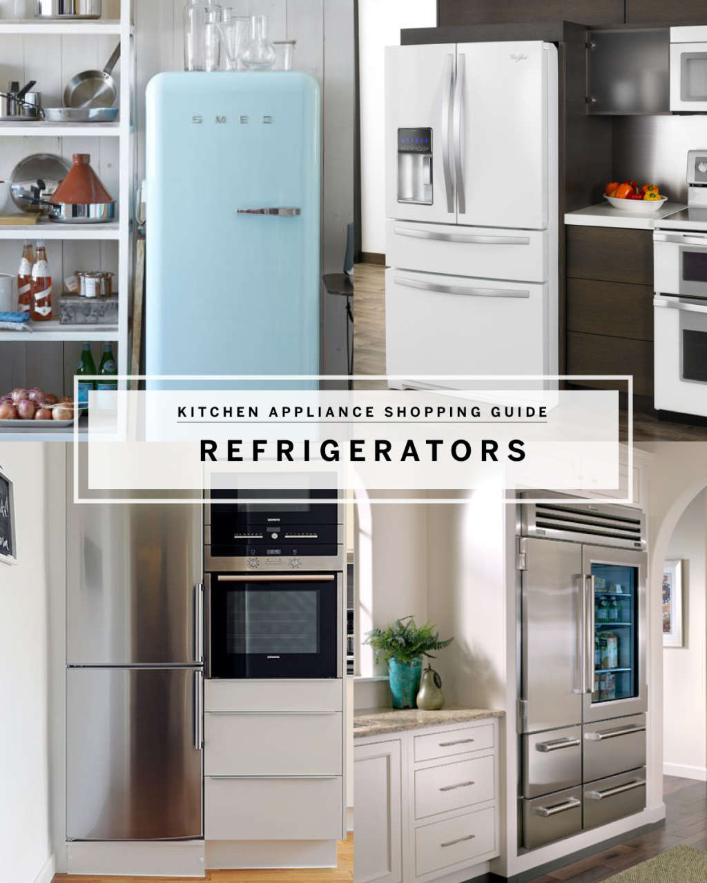 Best Refrigerators by Style: Modern, Vintage & Industrial Kitchens