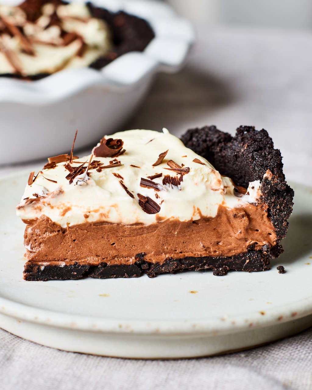 This No-Bake Chocolate Cream Pie Is Impossibly Easy to Make
