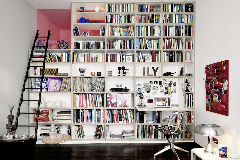 A Tiny German Apartment Packed Full of Personality (and Books!)