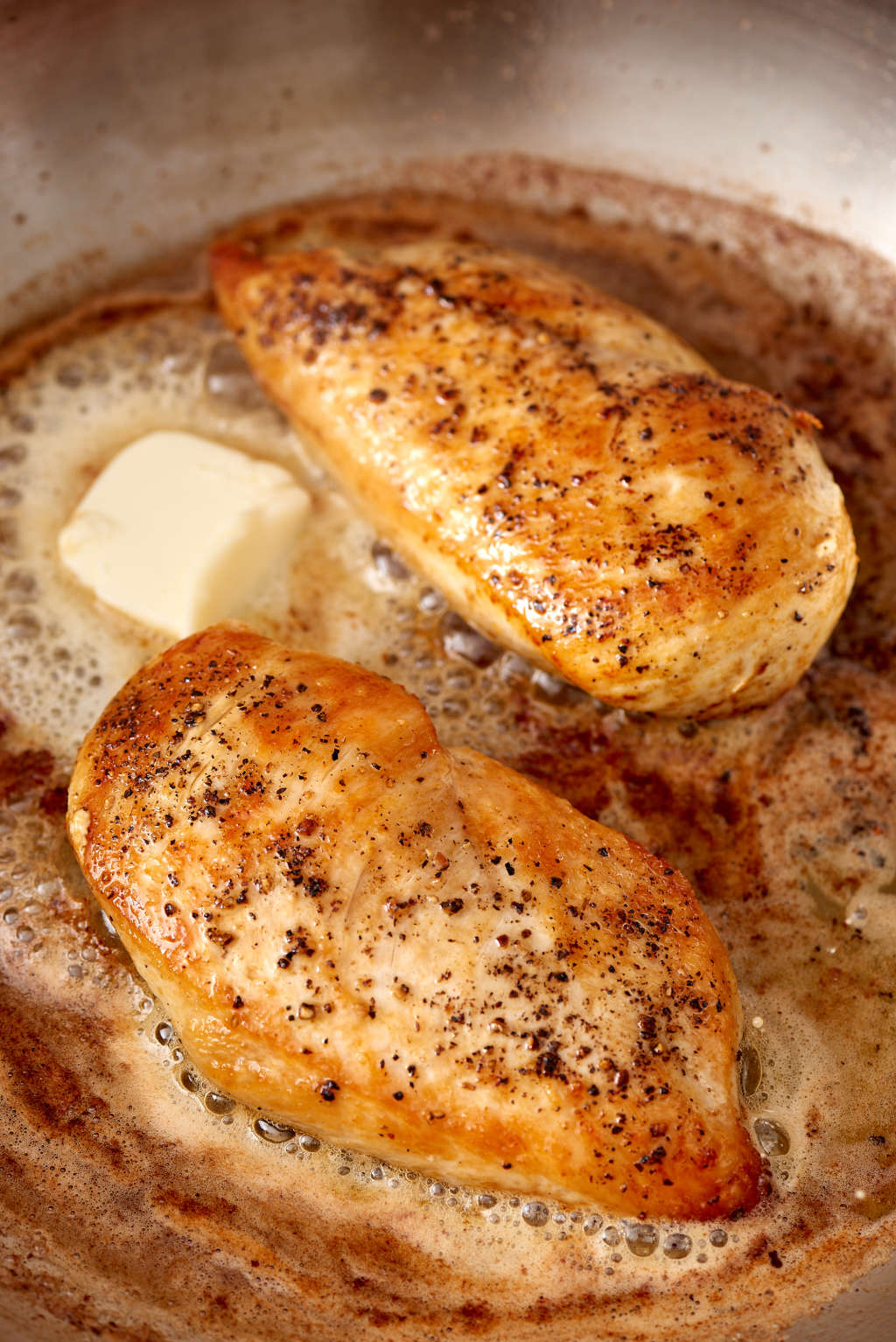 Here's the Trick to Making Golden, Juicy Chicken Breast