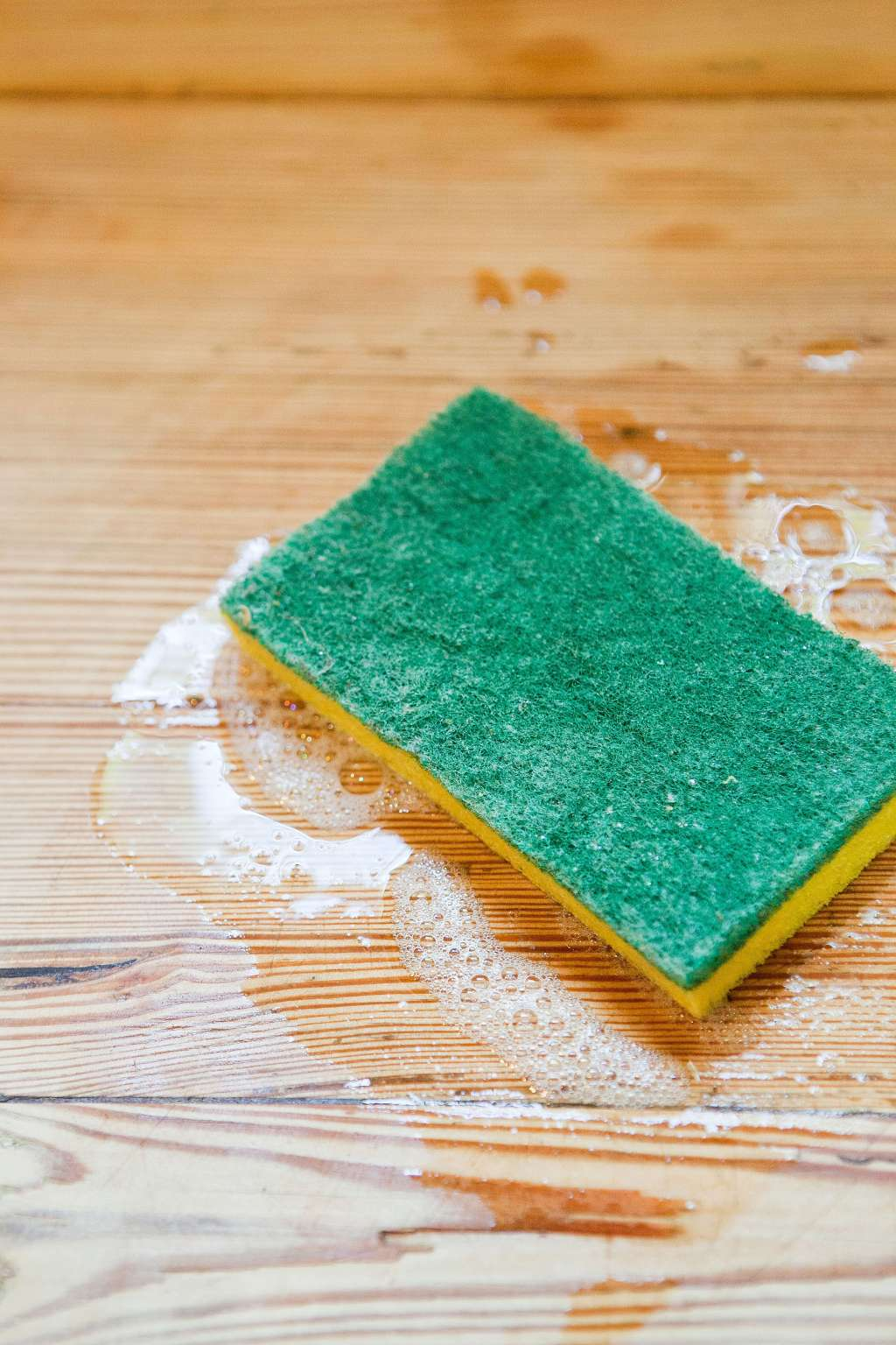 How To Clean Butcher Block Countertops Kitchn U Frezz Multipurpose Antimicrobial Spray