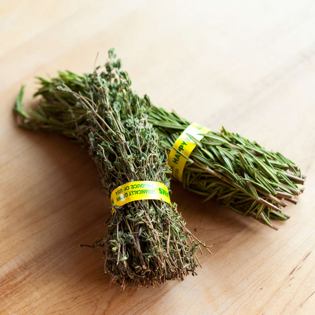 Would You Dare to Leave Fresh Herbs on The Counter?