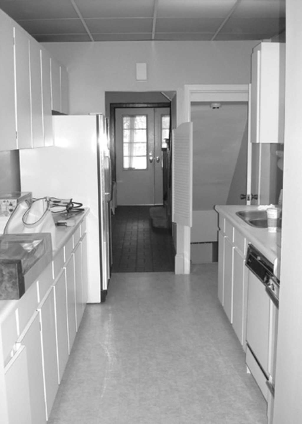 Opening Up The Doors: Before & After: Opening Up A Galley KitchenHouse & Home