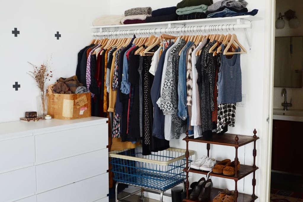 Real Life Solutions: Lessons from Well-Organized Closets