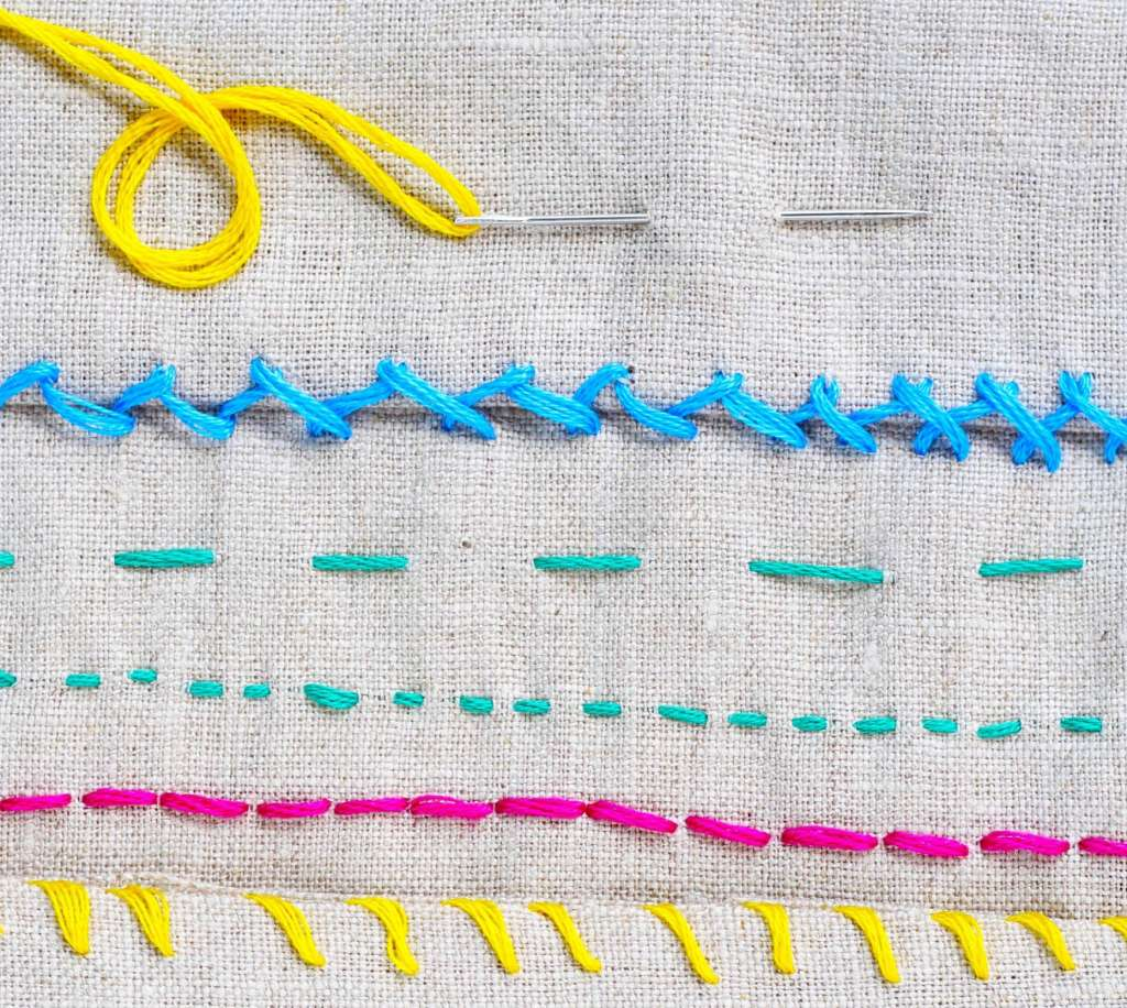 How To Hand Sew 6 Basic Stitch Photo Tutorials Apartment Therapy