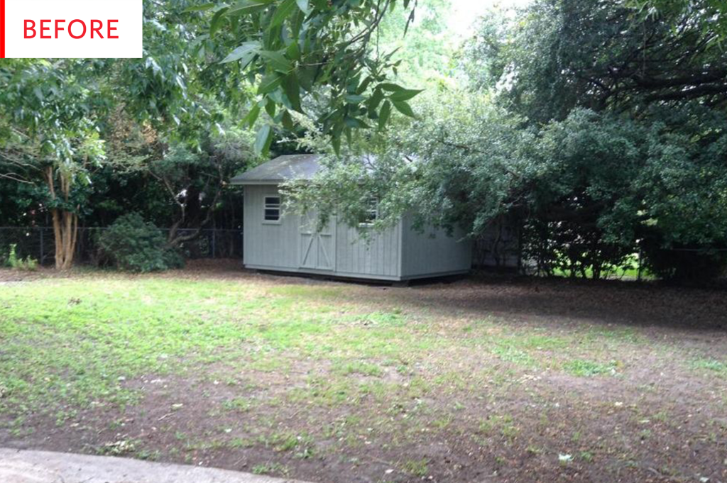 Before and After: This Backyard Shed Turned Tiny House for $15,000