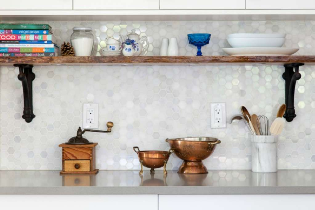 Make it Count: Smart Uses for the Space Below Upper Kitchen Cabinets
