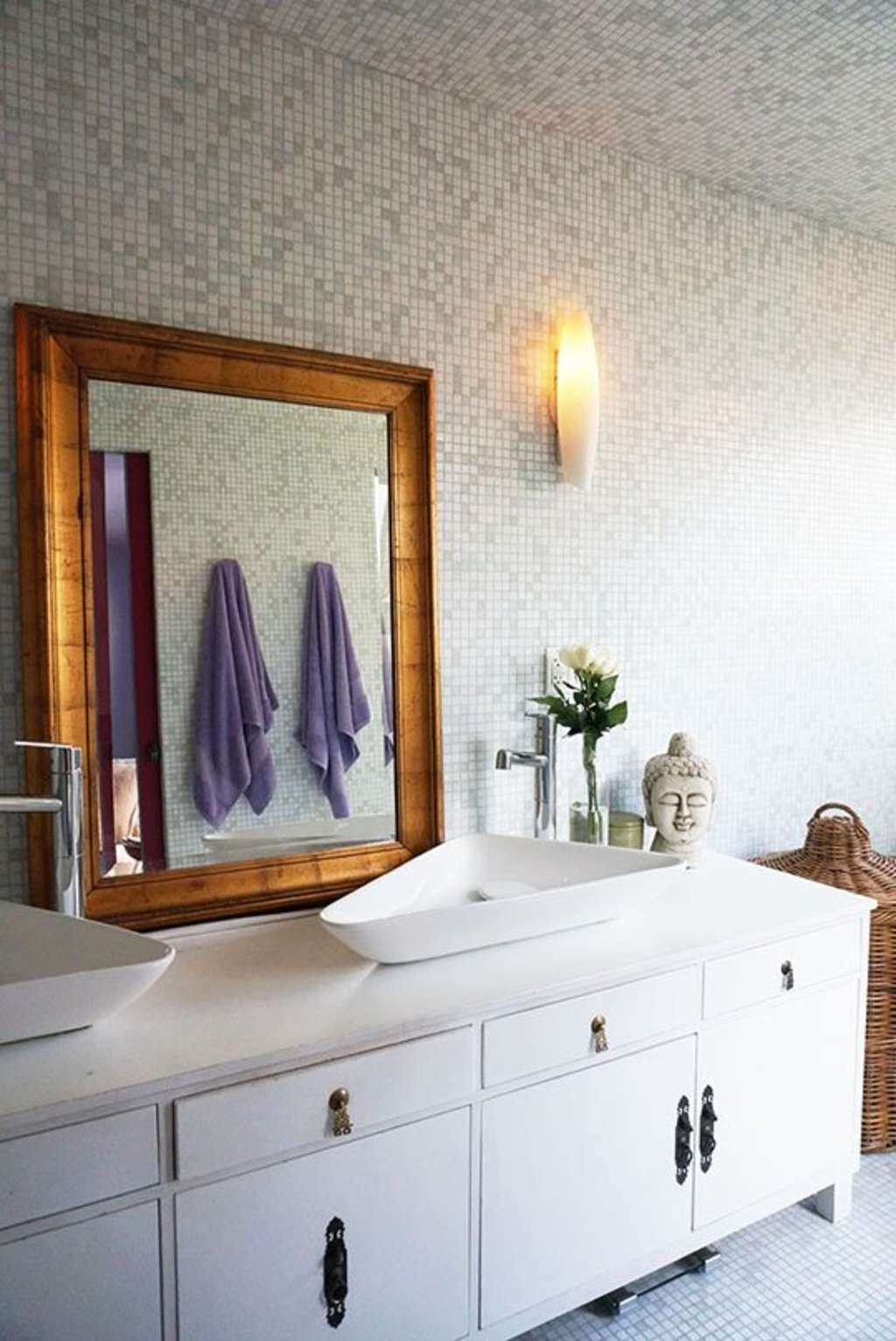 Bathroom Decorating Ideas: 5 Ways to Make Any Bathroom Feel More Spa ...