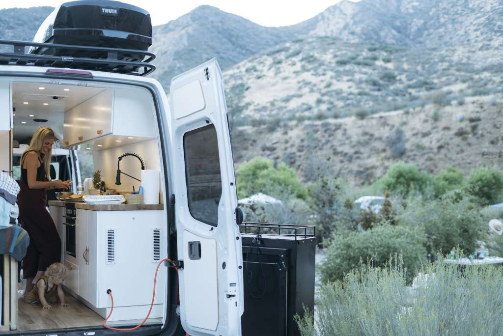 This Family of 4 Lives in a 86-Square-Foot Converted Van