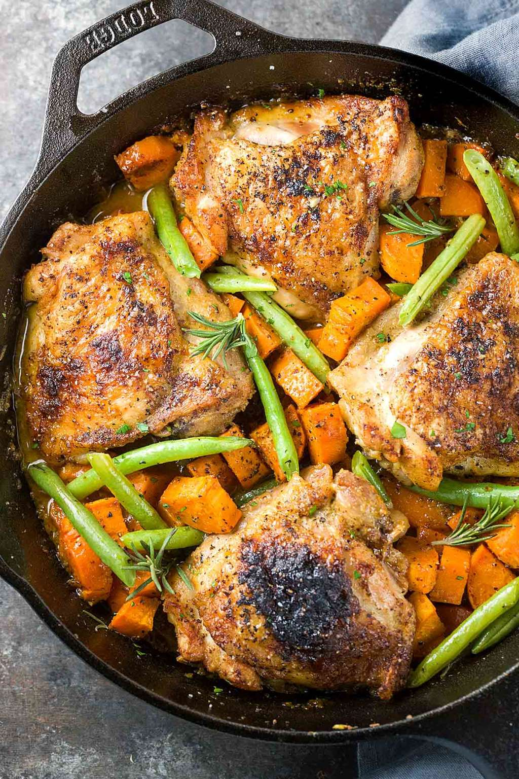 Make This One-Pan Maple-Mustard Chicken for Dinner Tonight
