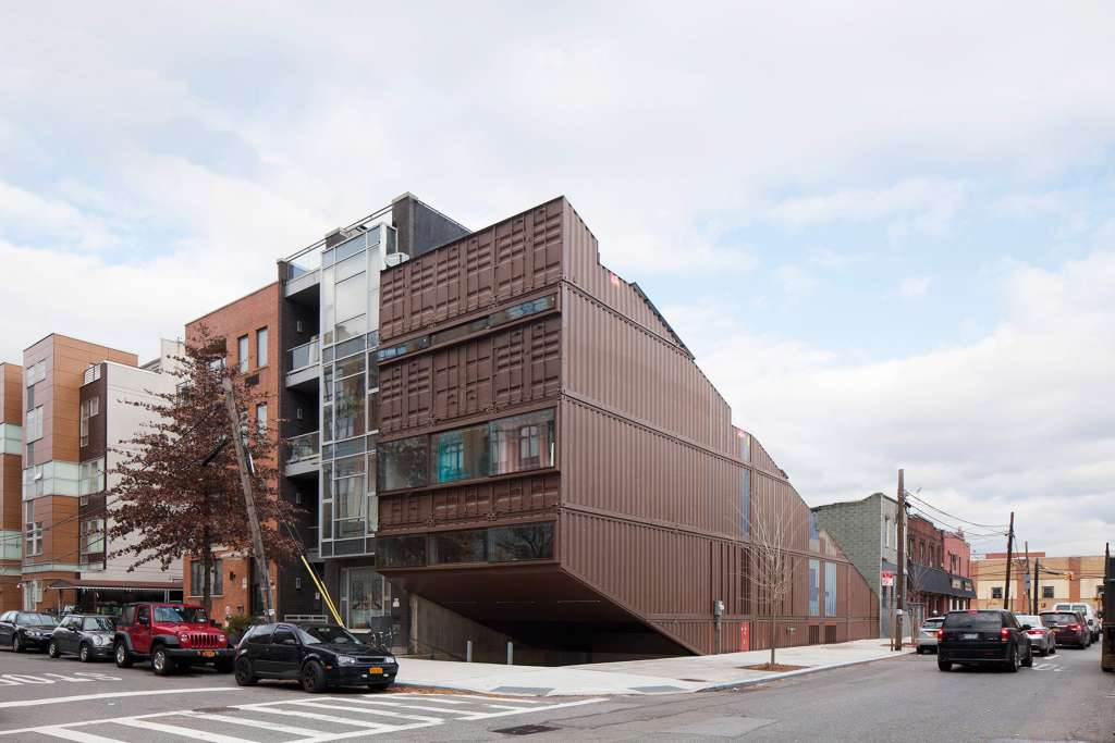 Peek Inside This Shipping Container House in Brooklyn