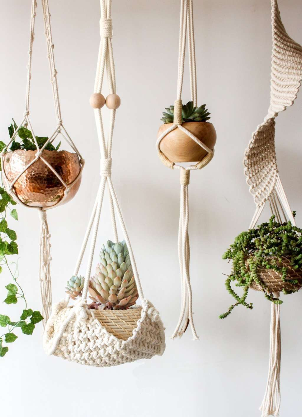 The best stylish indoor hanging planters of 2018 apartment therapy