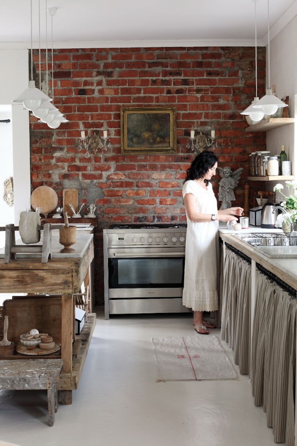 6 Skirted Cabinets for Your Dreamy Cottage Kitchen