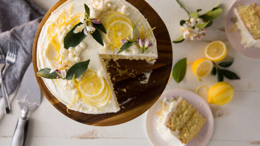 Recipe: Lemon Butter Cake