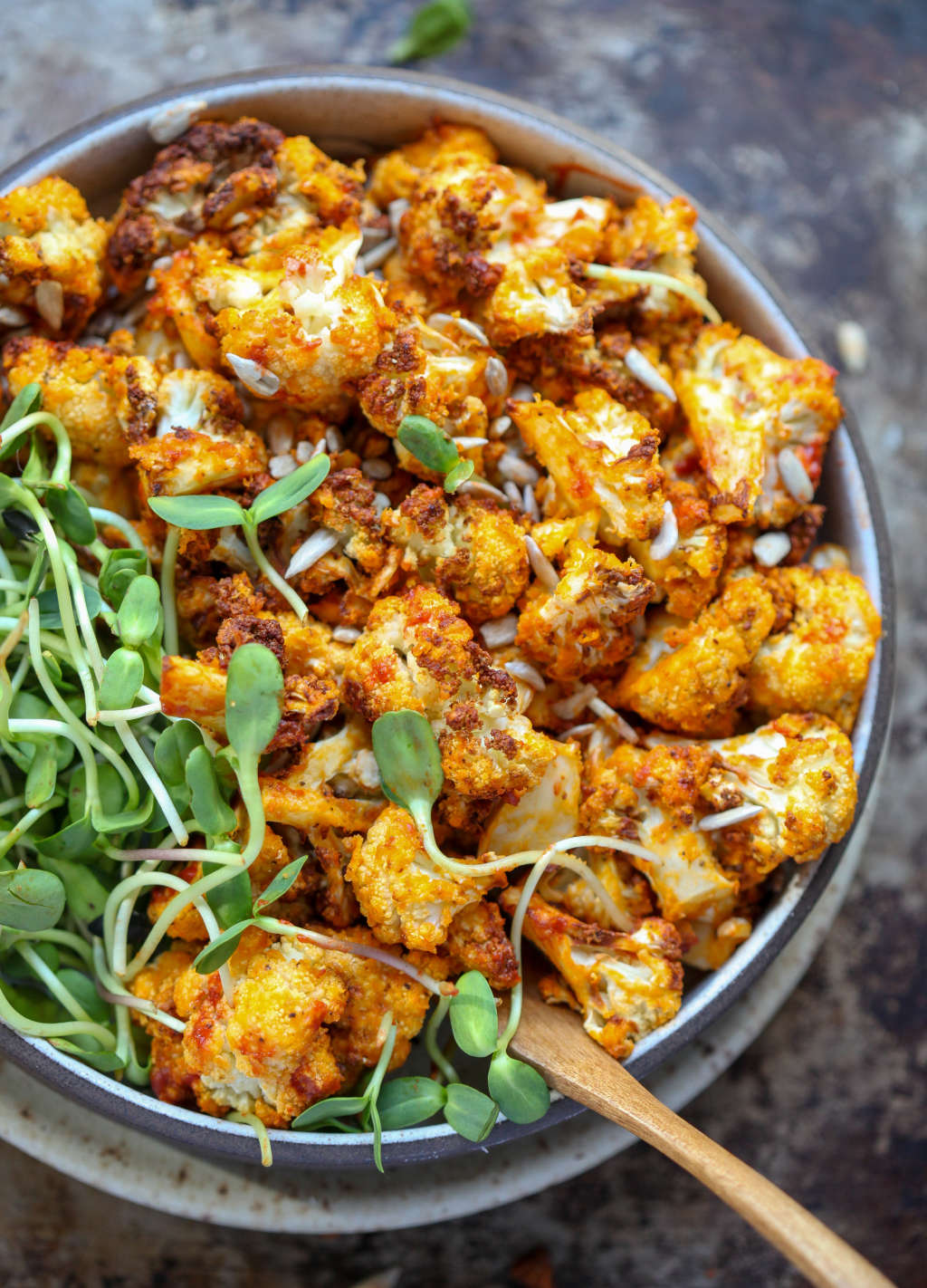 Make This Buffalo Cauliflower in Your Air Fryer This Weekend