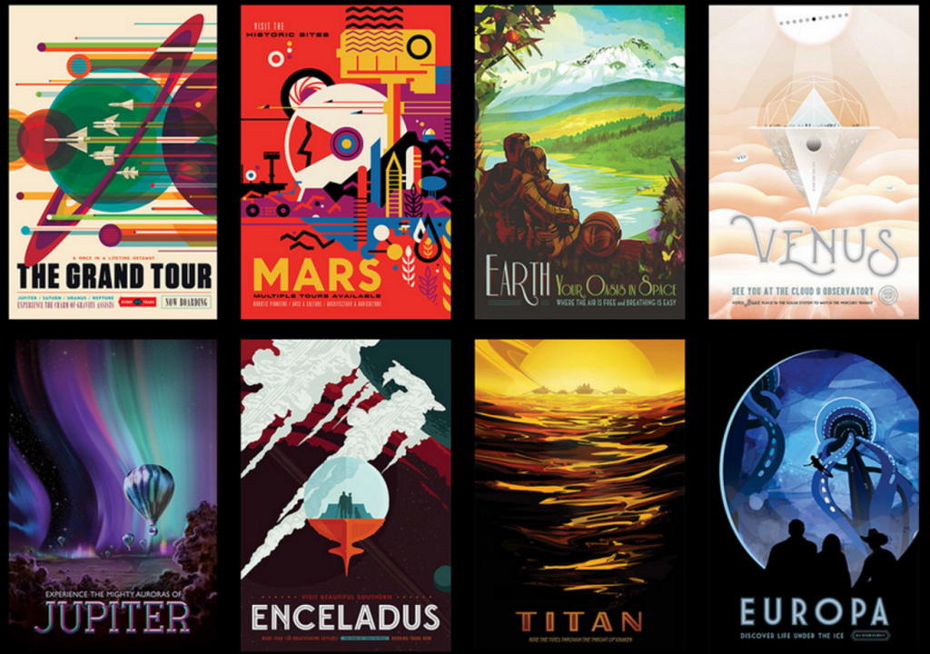 Plaster Your Walls with Exotic Cosmic Travel Destinations Thanks to NASA