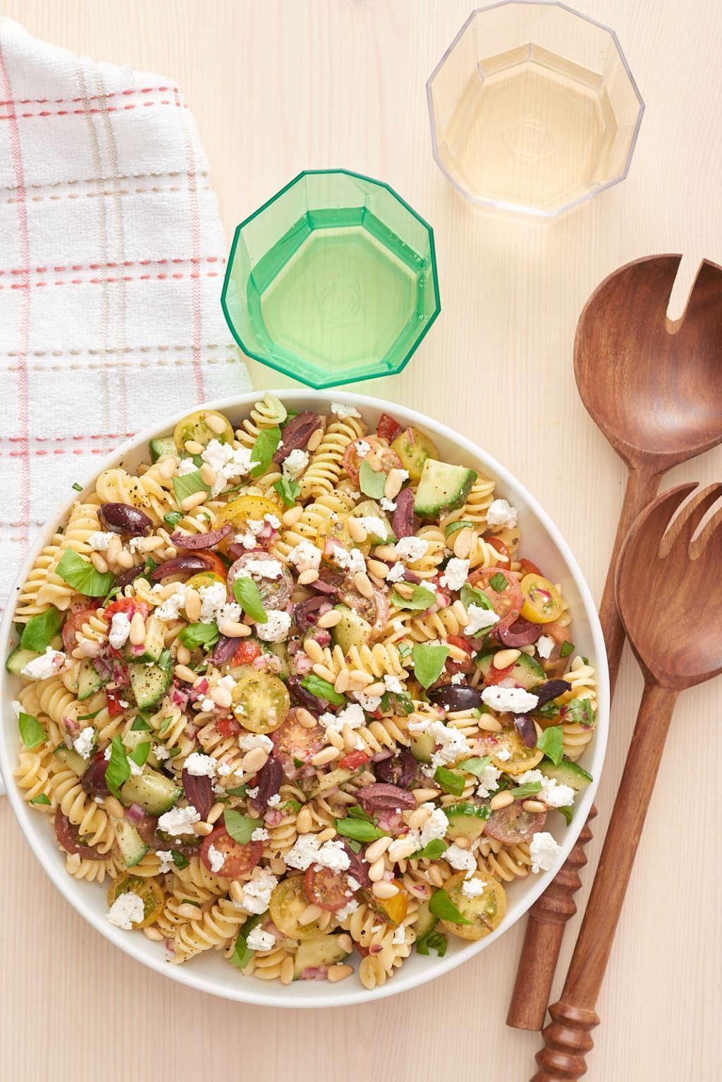 Wedding salads - recipes without mayonnaise 38