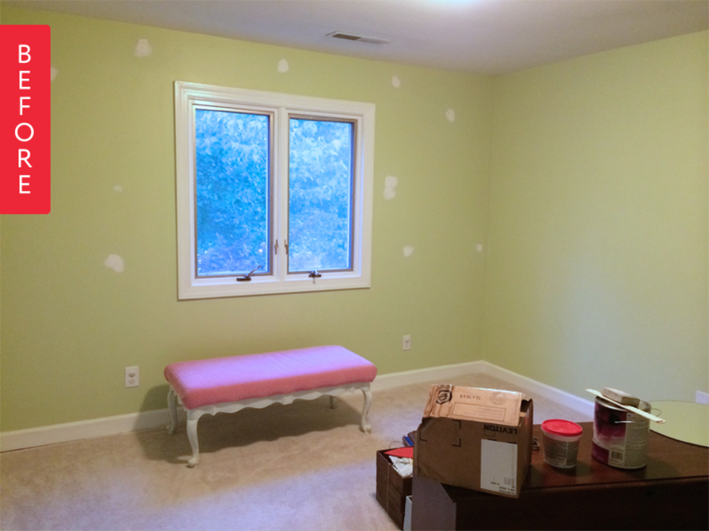 Before & After: Ideas for Turning an Unused Room into an Inspiring DIY Craft Room