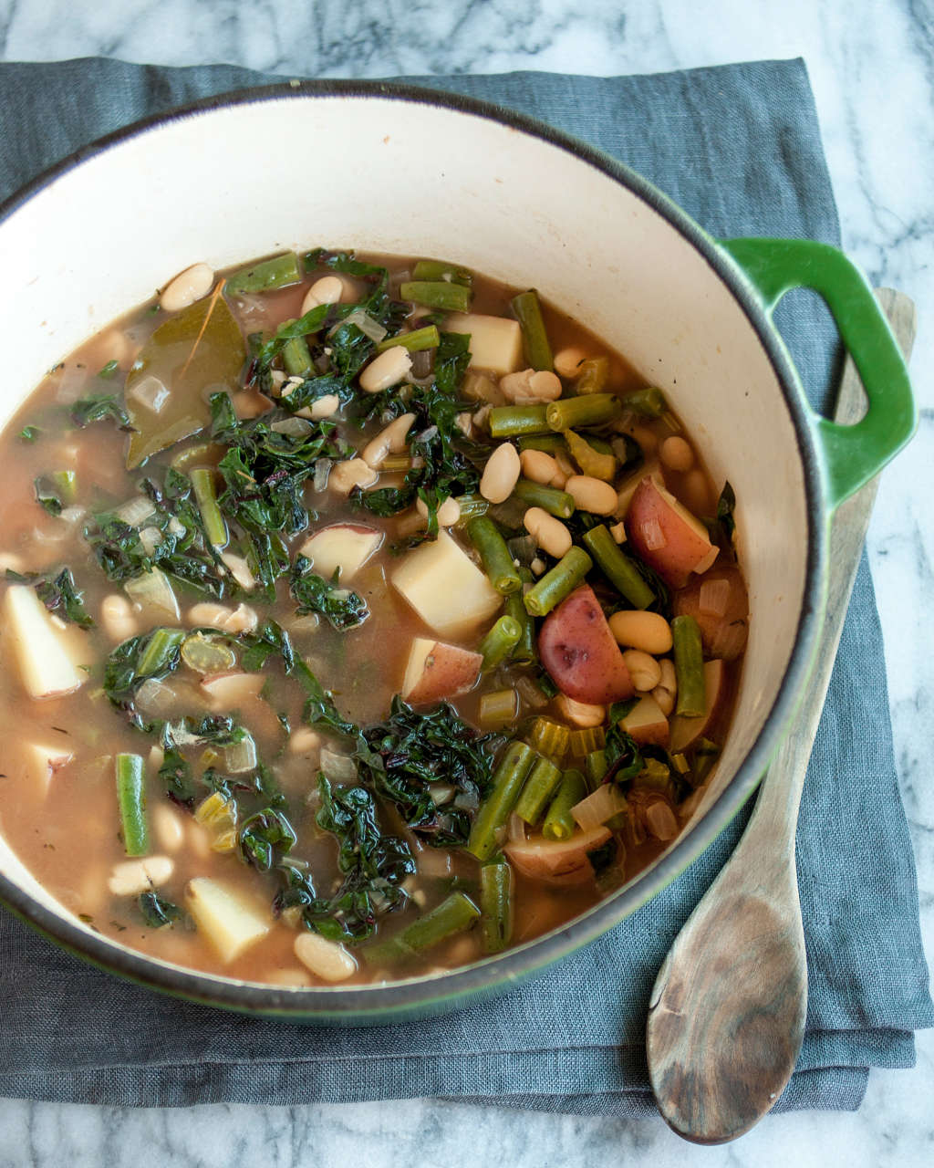 Recipe: Easy Green Minestrone