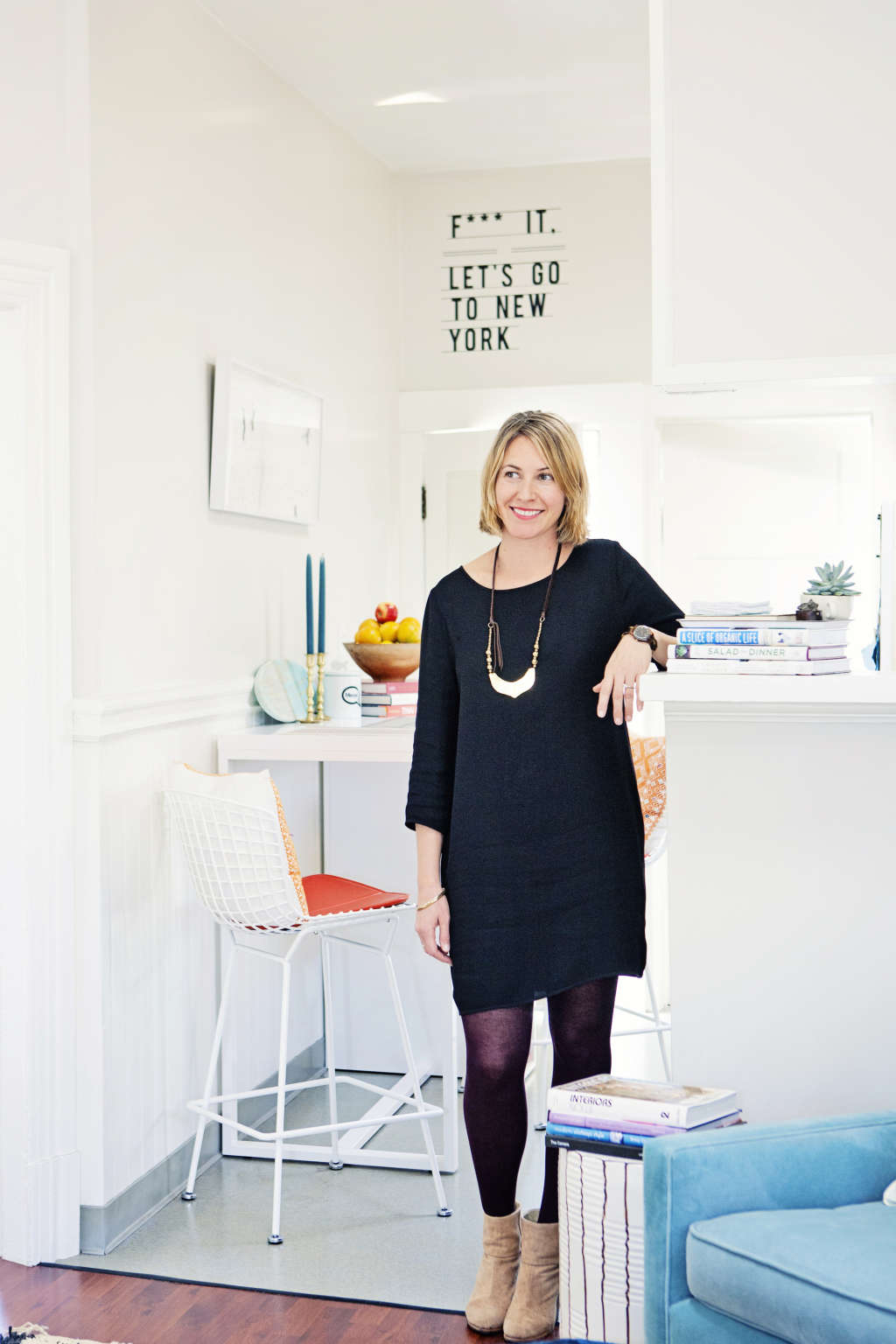 House Tour: A Bright, 700 Square Foot Rental Apartment