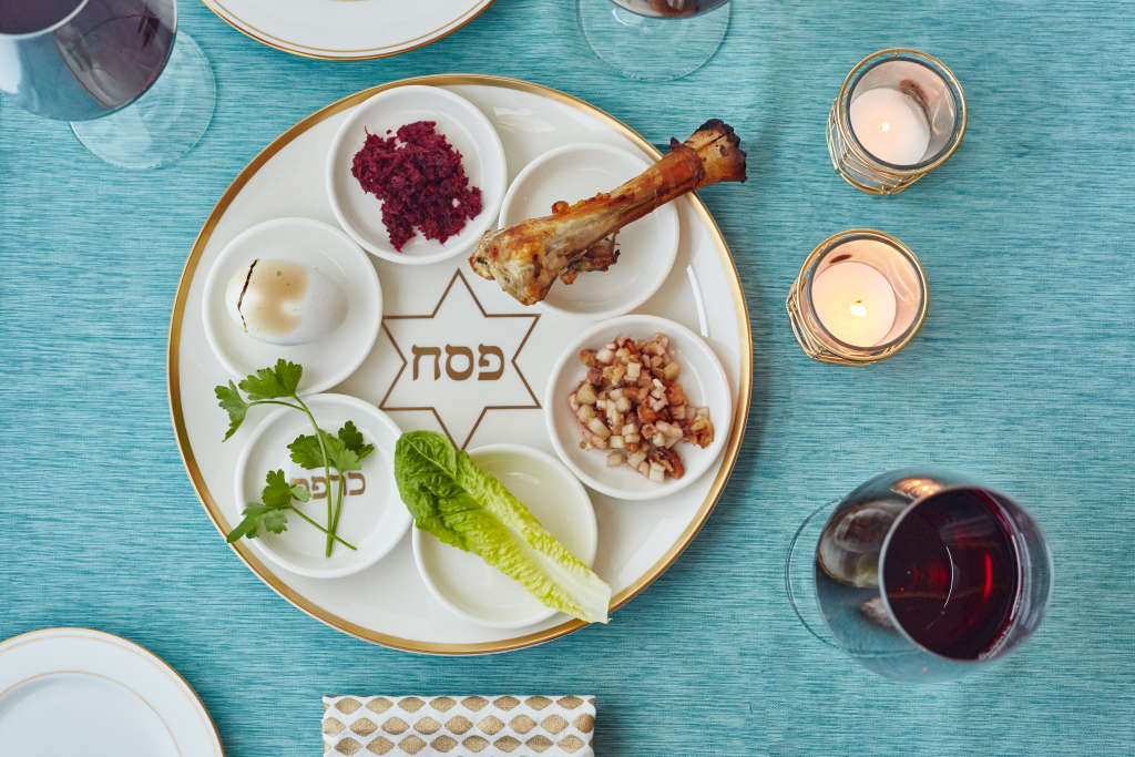 Learn About The 6 Elements Of A Traditional Seder Plate Kitchn