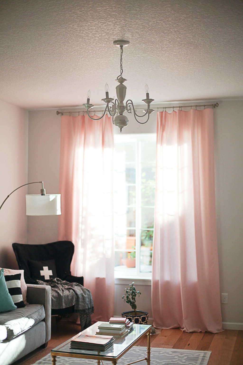 Quick & Affordable Home Makeover Task: Adjust Your Curtain Rods