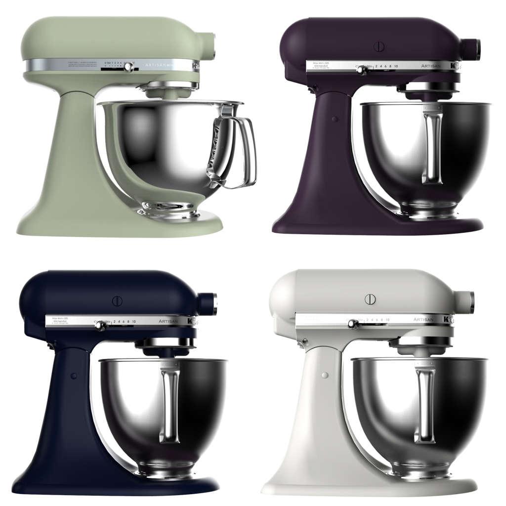 See Kitchenaid S New Mixer Colors Plus One More Surprise