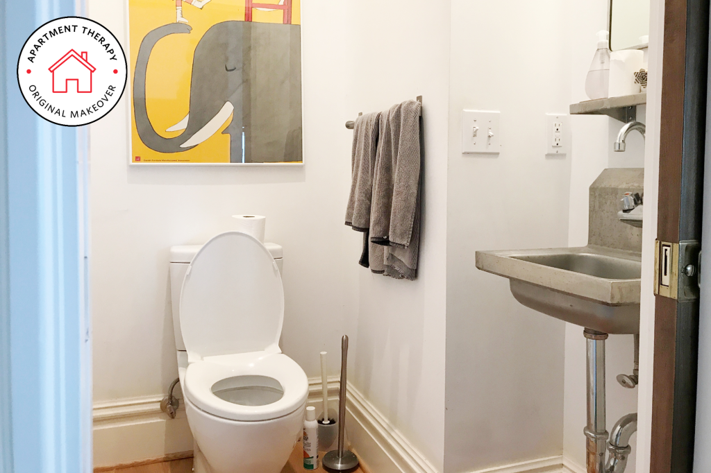 I Remodeled My Bathroom In A Weekend Apartment Therapy