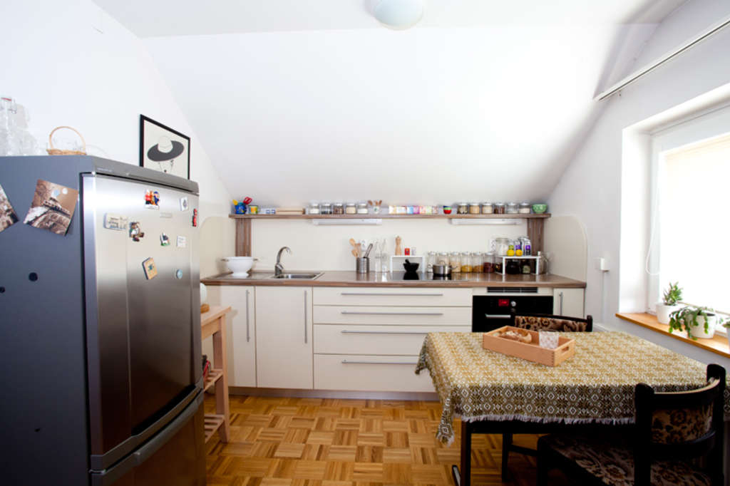 Ur A's Charming, Organized Kitchen