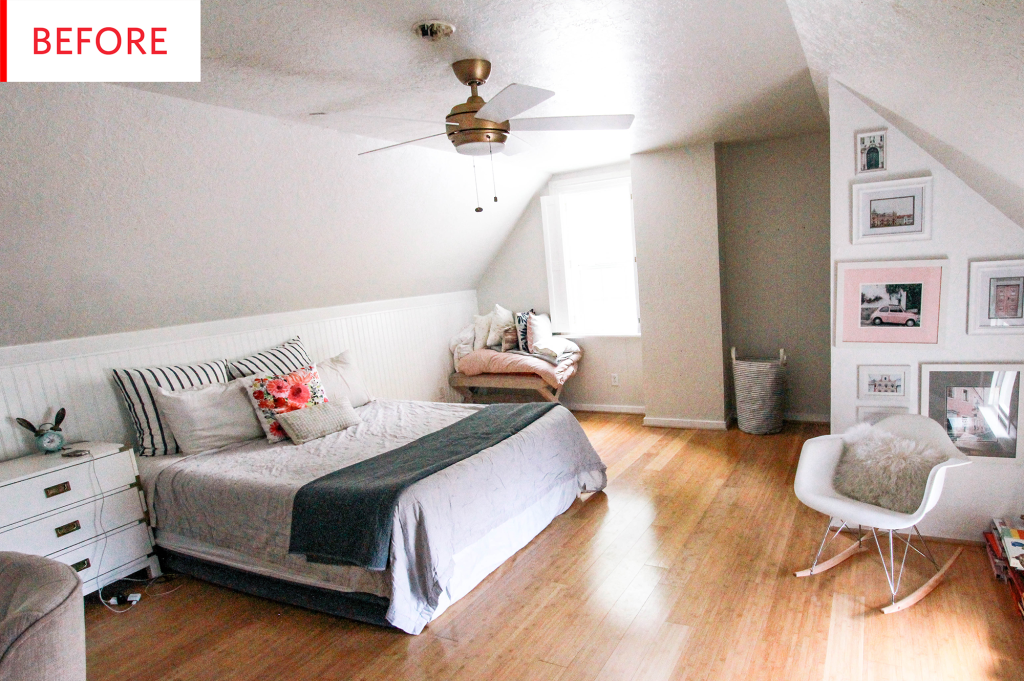 This Big Blank Bedroom Canvas Became Something Beautiful